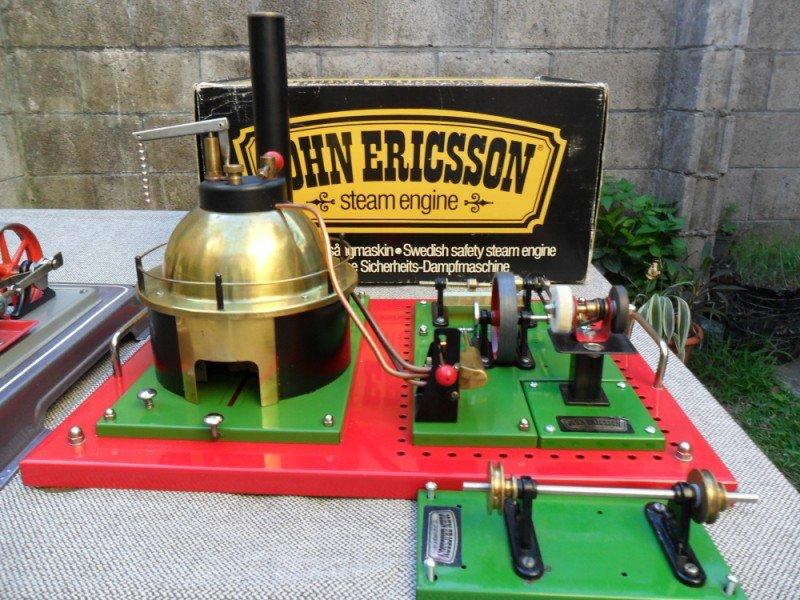 john ericsson steam engine